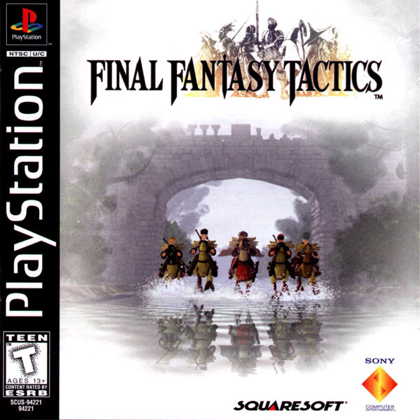 Final Fantasy Tactics [NTSC-U] Front Cover